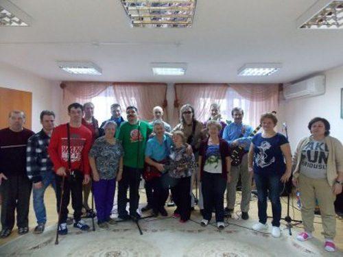 В Солнечногорском центре социального обслуживания прошел благотворительный концерт