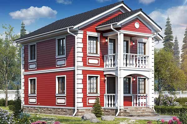 Готовый дом с завода в Солнечногорске