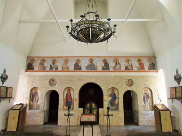 Храм в Семхозе и икона Иоанна Предтечи